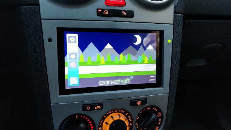 2018-10-18 Crankshaft - AndroidAuto sobre Raspberry Pi